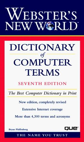 Download Webster's new world dictionary of computer terms