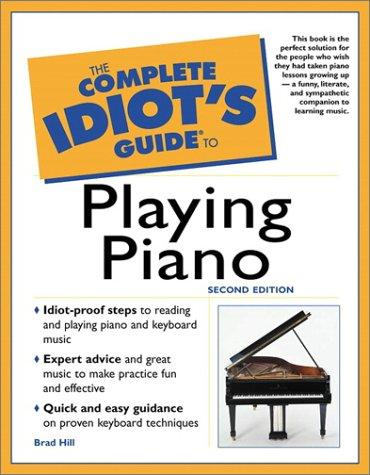Download The Complete Idiot's Guide to Playing Piano (2nd Edition)