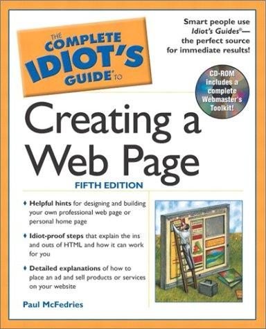 Download The complete idiot's guide to creating a Web page