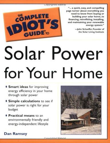 Download Complete idiot's guide to solar power for your home