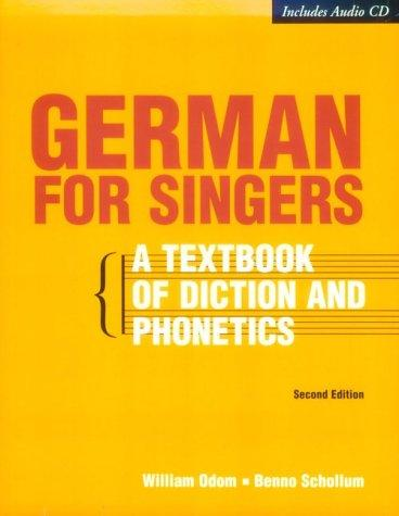 German for singers