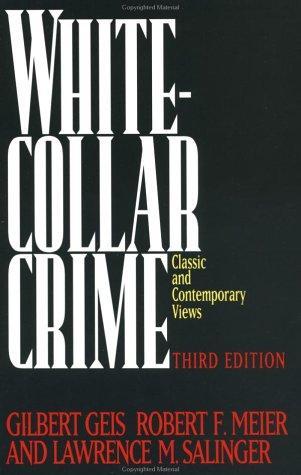 The White-Collar Crime