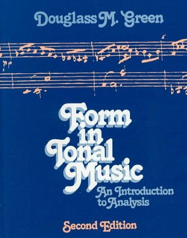 Download Form in tonal music