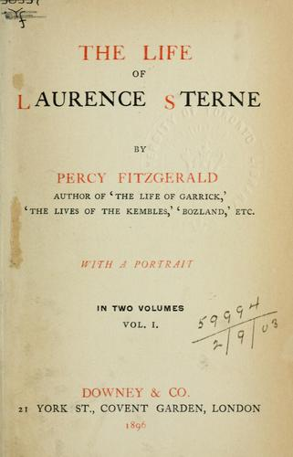 The life of Laurence Sterne