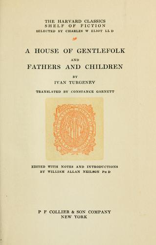 Download A house of gentlefolk