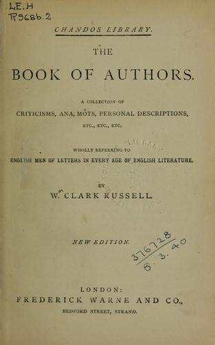 The book of authors
