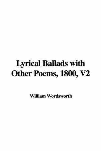 Download Lyrical Ballads with Other Poems, 1800, V2