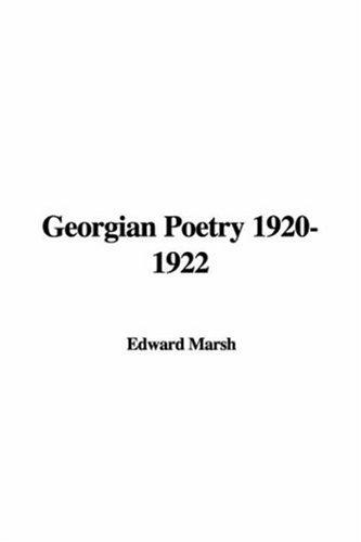 Download Georgian Poetry 1920-1922