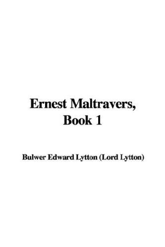 Download Ernest Maltravers, Book 1