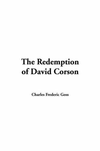 Redemption of David Corson