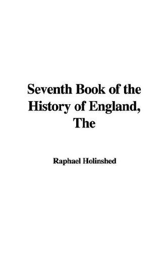 Download The Seventh Book of the History of England