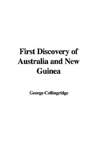 Download The First Discovery of Australia And New Guinea