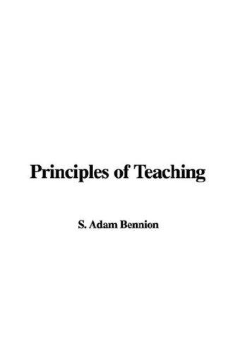 Download Principles of Teaching