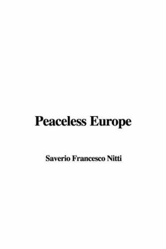 Download Peaceless Europe