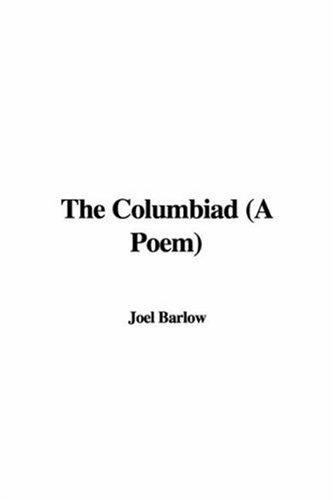 The Columbiad a Poem