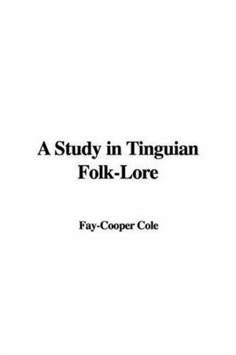 A Study in Tinguian Folk-lore