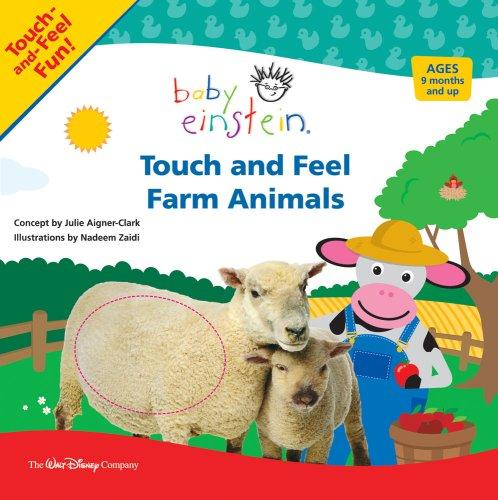 Touch and Feel Farm Animals by Julie Aigner-clark
