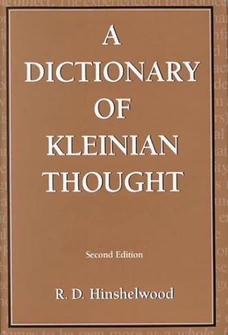 Download A dictionary of Kleinian thought