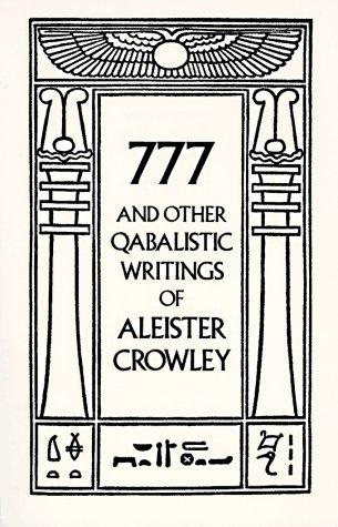 Download 777 And Other Qabalistic Writings of Aleister Crowley
