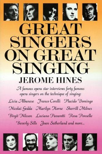 Download Great singers on great singing