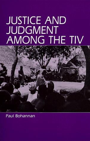 Justice and judgment among the Tiv