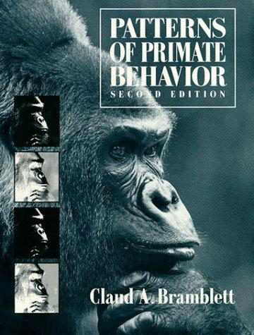 Download Patterns of primate behavior