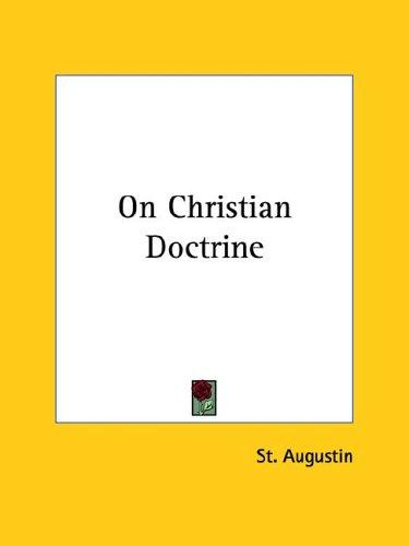 Download On Christian Doctrine