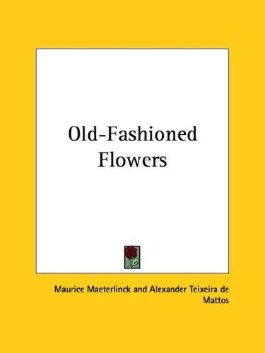 Download Old-Fashioned Flowers