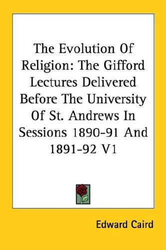 Download The Evolution Of Religion