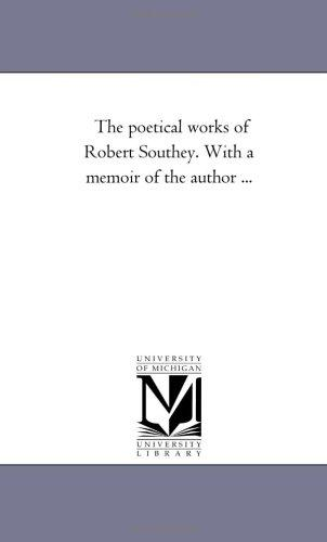 Download The poetical works of Robert Southey. With a memoir of the author …