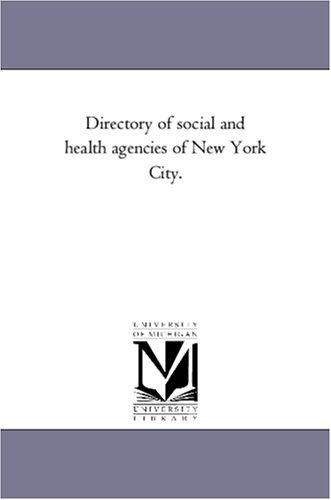 Download Directory of social and health agencies of New York City.