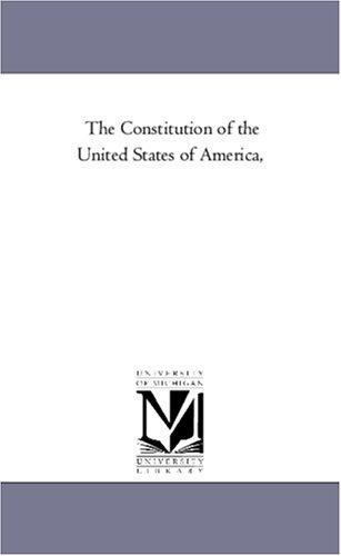 Download The Constitution of the United States of America,