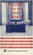 Download Politics and the Oval Office