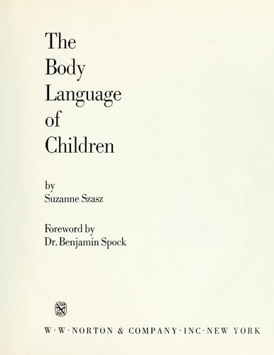 Download The body language of children