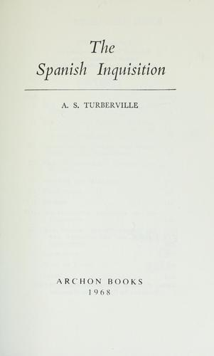 Download The Spanish Inquisition.