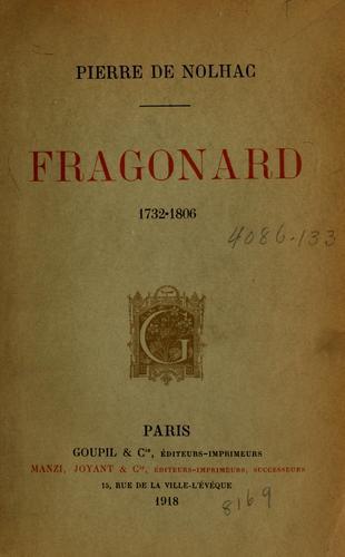 Fragonard, 1732-1806.
