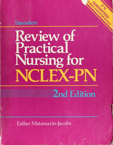 Download Saunders review of practical nursing for NCLEX-PN