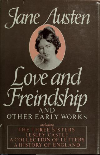 Download Love and friendship and other early works