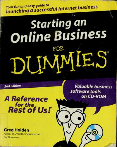 Download Starting an online business for dummies