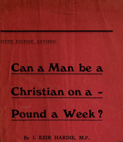 Download Can a man be a Christian on a pound a week?