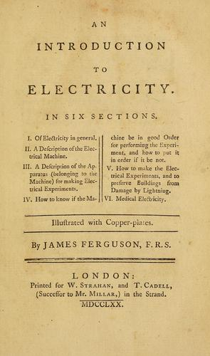 Download An introduction to electricity.