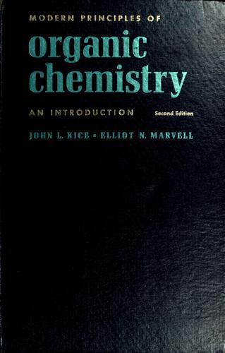 Modern principles of organic chemistry