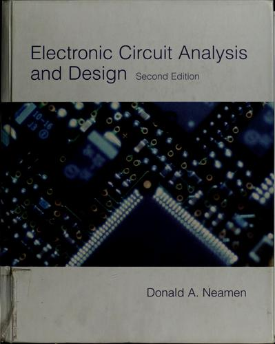 Download Electronic circuit analysis and design