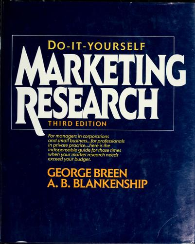 Download Do-it-yourself marketing research