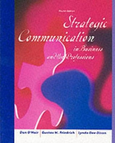 Download Strategic communication in business and the professions