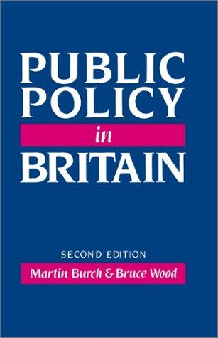 Download Public policy in Britain