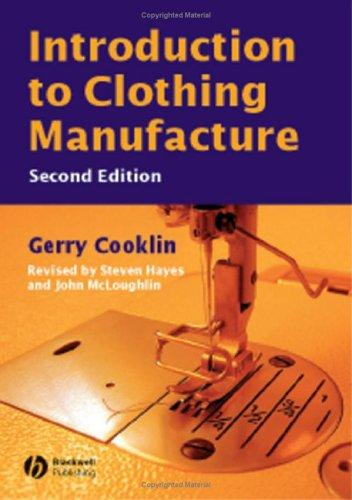 Download Introduction to clothing manufacture