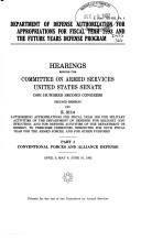 Department of Defense authorization for appropriations for fiscal year 1993 and the future years defense program
