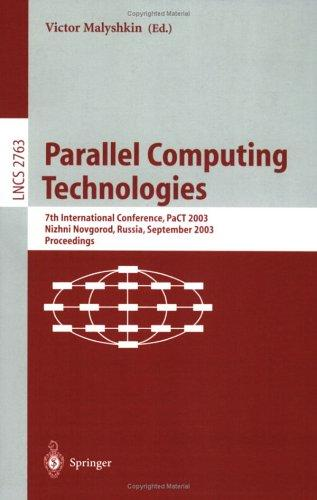 Download Parallel Computing Technologies