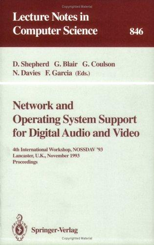 Download Network and operating system support for digital audio and video